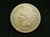 COLLECTIBLES SALE!! BEAUTIFUL 1883 INDIAN HEAD CENT PENNY w/ PARTIAL LIBERTY 10B