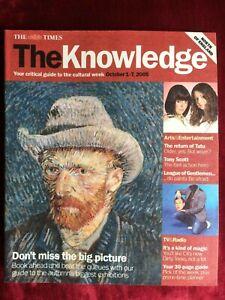 THE KNOWLEDGE mag 01/10/2005 TATU Daniel Mays Vic Reeves Mark Gatiss Hans Zimmer