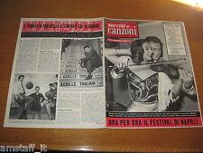 SORRISI E CANZONI=1957/21=MARISA DEL FRATE=FESTIVAL DELLA CANZONE NAPOLI=