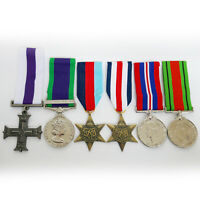 British Military Medals MC Ireland 1939-45 star, France Star War, Defence Repro