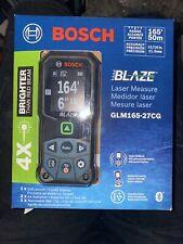 Bosch Blaze Glm165 27cg Green Beam 165 Ft Laser Measure New Sealed