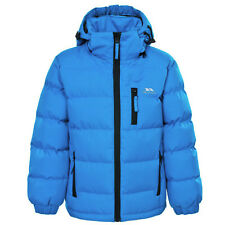 Trespass Tuff Blue 13 Waterproof Jacket With Removable Hood for KidsBoys AG