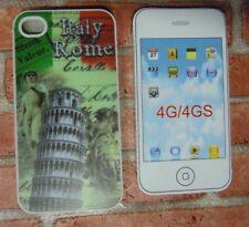 COVER CUSTODIA RIGIDA PER IPHONE 4 E 4S COLORE ITALIA