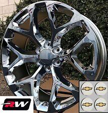 "20 inch Chevy Avalanche OE Replica Snowflake Wheels Chrome Rims 20 x9"" 6x139.7"