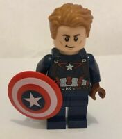 Authentic Lego Captain America Avengers Marvel Super Heroes Minifigure 76047