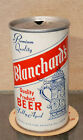 1972 BLANCHARD'S STRAIGHT STEEL PULL TAB BEER CAN WAUKEE HAMMONTON NEW JERSEY