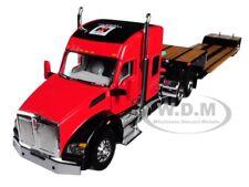 IH FARMALL KENWORTH T880 SLEEPER CAB W/ LOWBOY TRAILER 1/64 BY SPECCAST ZJD1810