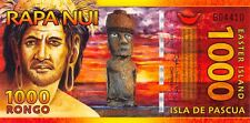 Chile / Easter Island  1000  Rongo  01.9.2011   Uncirculated Banknote FL20