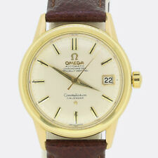 Vintage Omega Automatic Constellation Calendar Gents Wristwatch 18ct Yellow Gold