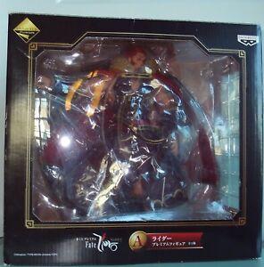 Fate / Zero  RIDER Iskandar Figure Ichiban Kuji Banpresto US Seller