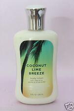LOT 1 COCONUT LIME BREEZE BATH & BODY WORKS HAND & BODY LOTION CREAM 8 FL OZ EA
