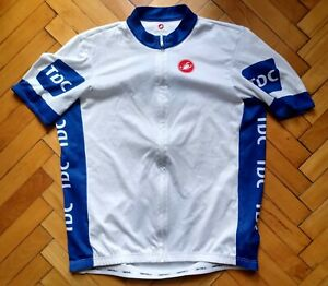Cycling Castelli TDC Jersey Size 'XXXL' Full Zip