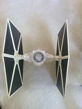 2003 Star Wars Legacy Collection Imperial Tie Fighter White Large wings