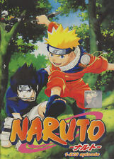 Naruto Shippuden TV series DVDs Box Set (Episodes 1-220) with English Dubbed