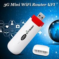 HSPA Modem 3G Mobile Router WiFi Broadband MiFi Wireless Hotspot Unlocked USB