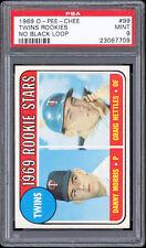 1969 O-Pee-Chee #99 Twins Rookie Stars (Graig Nettles RC) PSA 9 MINT. POP 1.
