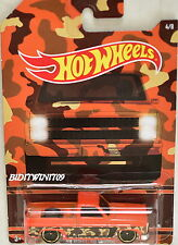 HOT WHEELS CAMOUFLAGE WALMART EXCLUSIVE '83 CHEVY SILVERADO #4/8