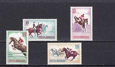 a122 - ROMANIA - SG3142-3145 MNH 1964 HORSEMANSHIP