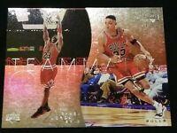 1997-98 Upper Deck Michael Jordan Scottie Pippen Teammates Die Cut #T7 #T8 MINT