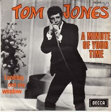 "45 T EP  TOM JONES  ""A MINUTE OF YOUR TIME"""