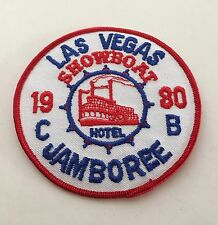 "Rare Vintage Showboat Casino, Las Vegas Nevada casino 1980 Jamboree 4"" Patch"