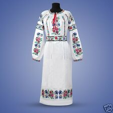 Ukrainian embroidered dress, sorochka, shirt, borshivka, vyshyvanka. Sizes S-XXL