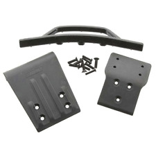 RPM Traxxas Slash 4x4 Front Bumper & Skid Plate (Black) RPM80022