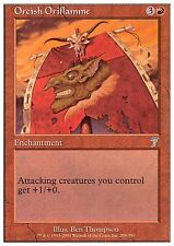 Orcish Oriflamme X4 FINE PLAYED 7th Edition MTG Magic Card Red Uncommon