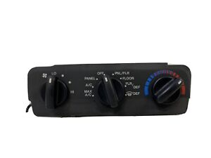 1998-2000 Ford Contour climate A/C HVAC heat temp control switch panel oem