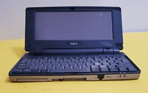 """Vintage NEC Mobilepro 780 Palmtop/Handheld PC Computer - Untested - Sold """"AS IS"""""""
