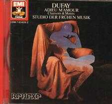Dufay And Binkley(CD Album)Chanson & Motets-New