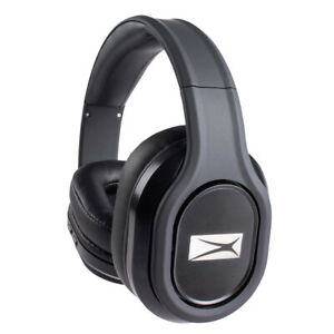 Altec Lansing MZX667-BLK Evolution2 Waterproof Bluetooth Headphones, Black