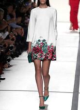 Vestito Donna Mini Dress Casual Floreale - Woman Mini Dress Flower Design 110077