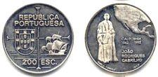 + PORTUGAL . 200 ESCUDOS . 1992 . CABRILHO . FRAPPE en ARGENT .