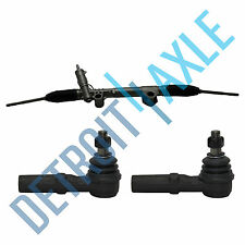 Power Steering Rack & Pinion Assembly + 2 Outer Tie Rod Ends for Ram 1500 - 2WD