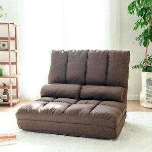 Convertible Futon Flip Chair Sleeper Bed Lounge Couch Sofa Living Room Furniture