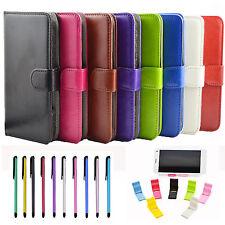 ✔ 4 in1 set Hülle Tasche für ZTE AXON 7 Case Handytasche  ✔ 5,5