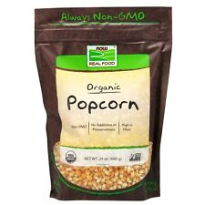 NOW Foods Organic Popcorn, 24 oz.