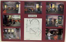 Babylon 5 Customs Set Design Storyboard Used In Production