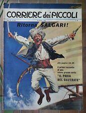 Corriere dei Piccoli N. 24 1963 pratt emilio salgari con inserto piccolissimi