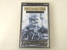 PROCESSO ALLA STORIA - APERTURA CRIPTA MUSSOLINI - VHS - INTEGRALE PAL- V32