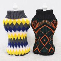 Pullover Hundepullover Strickpullover für Kleine Hunde Winter Größe S-M-L-XL-XXL