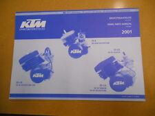 2001 KTM 50 SX SX Senior Adventure Factory Spare Parts Manual
