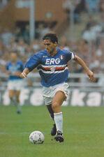 Football Photo ROBERTO MANCINI Sampdoria 1992-93