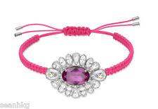 Swarovski Shourouk Pink Bracelet, Fuchsia Silver Crystal,Authentic  - 5019150