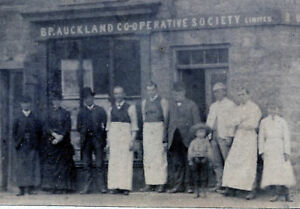 BP BISHOP AUCKLAND CO-OP OLD MINING VILLAGE BUTTERKNOWLE COUNTY DURHAM UK PHOTO