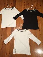H&M Cotton Blend Machine Washable Regular Tops & Blouses for Women