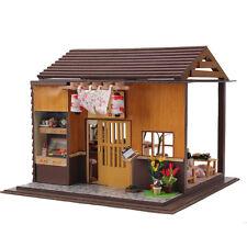 !New~Dollhouse miniature DIY kit- #13827, Sakura Sushi Bar, with extra Sushi