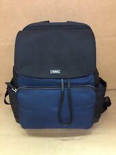 Tumi CADY Drawstring BACKPACK Bag Black Blue Nylon 73415NVYDO $295