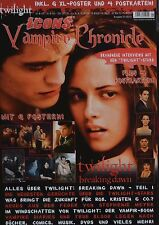 TWILIGHT - Vampire Chronicle Magazin 01/2012 + Poster - Breaking Dawn Clippings